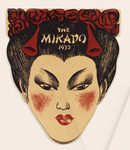 """The Mikado 1937"" [front cover programme]"