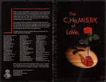 Programme, The Chemistry of Love - The Isabel Bader Theatre Gala Opening, 2001