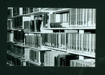 Books on shelf at the E.J. Pratt Library