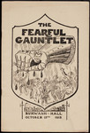 "Programme cover, ""The Fearful Gauntlet,"" 1915"