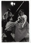 [Performers at a Victoria College unknown student production]