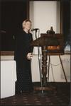 Roseann Runte giving speech at Centennial Dinner