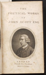 [Title-page to The poetical works of John Scott, Esq.]
