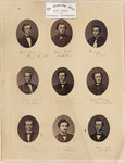The graduating class of 1862, Victoria College