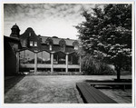 New Wymilwood and Annesley from quadrangle [exterior back]