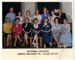 Victoria College Spring Reunion 91 - Class of 6T1
