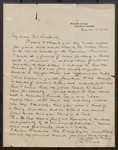 [Letter from E.J. Pratt to Austin McPhail Bothwell]