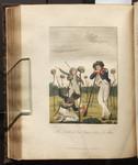 The Sculls of Lieut. Leppar, & Six of his Men. [Colour Version].