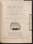 [Title-page to Volume II of] Narrative, of a five years expedition, against the revolted Negroes of Surinam, in Guiana, on the wild coast of South America, from the year 1772, to 1777, elucidating th