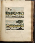 View of the Camp at the Java Creek. View of the Encampment at Jerusalem. [Colour Version]