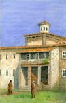Lluch [Lluc] Monastery, Majorca, 1926