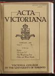 Acta Victoriana 53 : 5