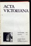 Acta Victoriana 55 : 2