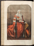 The Lord Chancellor, The Right Hon. Lord Cranworth, in his Parliamentary Robes.