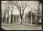 [Exterior south and west elevation of the Birge-Carnegie Library before Emmanuel College was built]