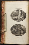 [Illustrations to] Part I. Introduction [and] Fable I. [The Lion, the Tiger, and the Traveller].