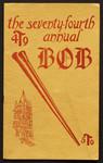 """Programme, """"The Atomic Bob,"""""""