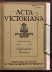 Acta Victoriana 53 : 7