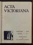 Acta Victoriana 57 : 3