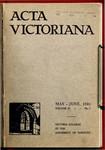 Acta Victoriana 55 : 7