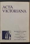 Acta Victoriana 57 : 5