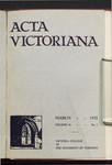 Acta Victoriana 56 : 5