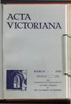 Acta Victoriana 58 : 6