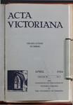 Acta Victoriana 58 : 7