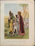 Abraham sending away Hagar and Ishmael.