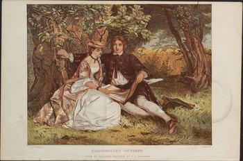 Gainsboroughs courtship.