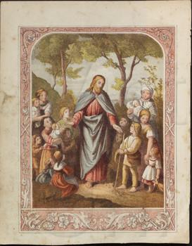 "Jesus said ""Suffer little children."""