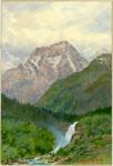 Waterfall near Cauterets, Pyrénées, 1926