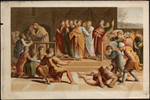 Death of Ananias.