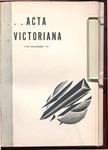 Acta Victoriana 60 : 3
