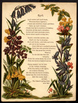 [Garlands for the months]. April [art reproduction].