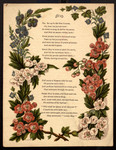 [Garlands for the months]. May [art reproduction].