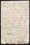 [Note, approximately 1794] Danyrallt Mydyroilin Llanarth Cardiganshire [to] Mr. Cumberland.