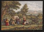 [Gypsy encampment].