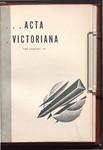 Acta Victoriana 60 : 4