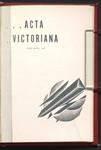 Acta Victoriana 60 : 6