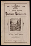 Convocation Victoria University