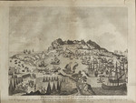 PERSPECTIVE VIEW OF GIBRALTAR. With the Disposition of the Spanish Attack & Relief of the Garrison by the English Fleet under the Command of Adm. Darby on the 12th April 1781.