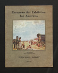 European art exhibition for Australia : Town Hall, Sydney, July 1923.