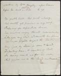 [Poem] [manuscript].