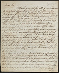 [Letter] 1808 Aug. 31, Chichester [to] W. Hayley Esq. Felpham.