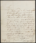 [Letter] 1807 July 21, Brampton [to] Mr. Cromek, Newman Street.