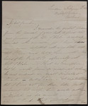 [Letter], February 12th, 1830, 30 Allsops Terrace, New Road, [London] [to] Bernard Barton Esqre, Woodbridge, Suffolk.