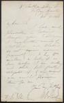 [Letter], Nov. 9, 1860, 8 Southampton St., Fitzroy Square [to] F. S. Ellis, Esqr.