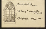 Programme, Christmas Dinner, Burwash Hall