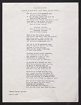 "Song sheet, ""Two 1929 Frosh Bob Songs"" and ""The 1983 Bob Song"""